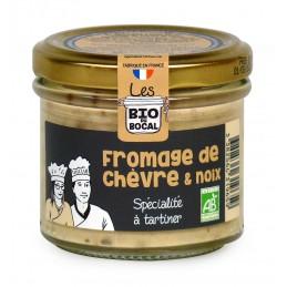 Fromage de chèvre & noix...