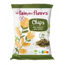 Chips aux lentilles 50g - Bio