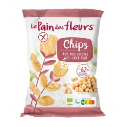 Chips aux pois chiches 50g...