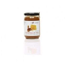 Crème de noisettes au miel...